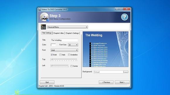 phần mềm ghi đĩa FreeVideo to DVD